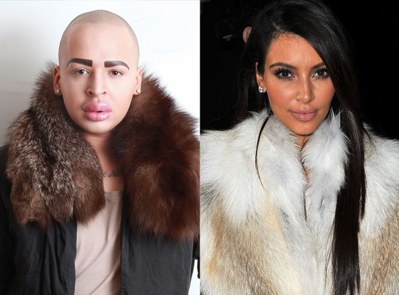Man Spent $150,000 To Look Like Kim Kardashian