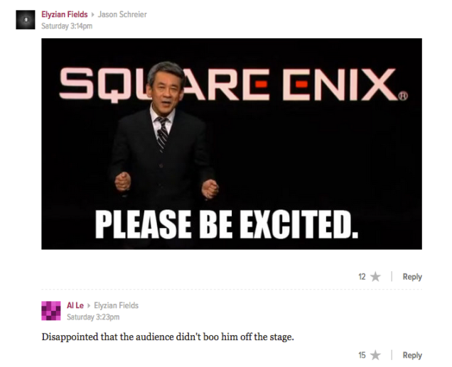 The Internet's Reaction to Final Fantasy VII on PS4