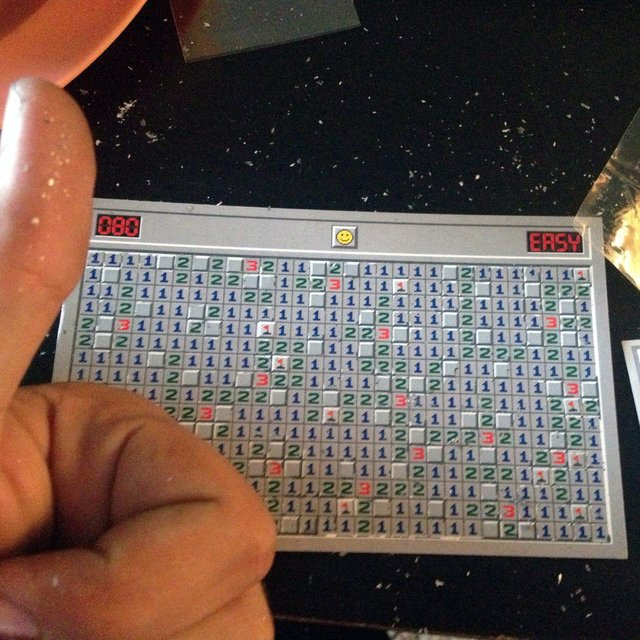 Minesweeper Scratch Card by Connect Design