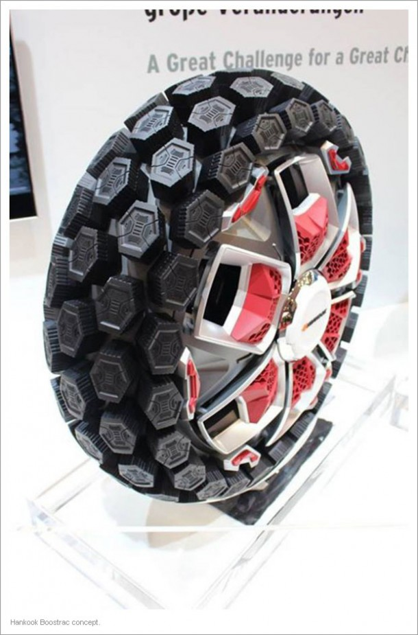 The Tyre Of The Future At Hankook Tyre Design Challenge