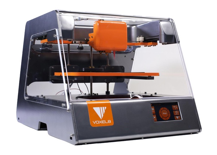 World's First 3D Electronics Printer, Voxel8