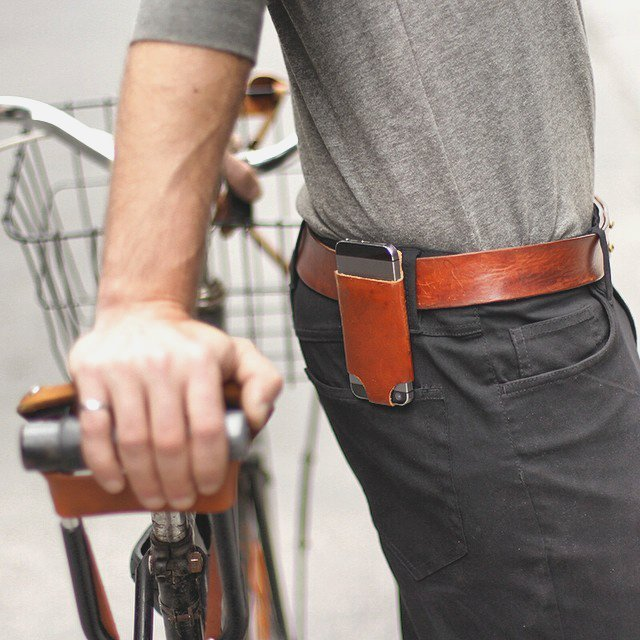 iPhone 5 Holster by Oopsmark