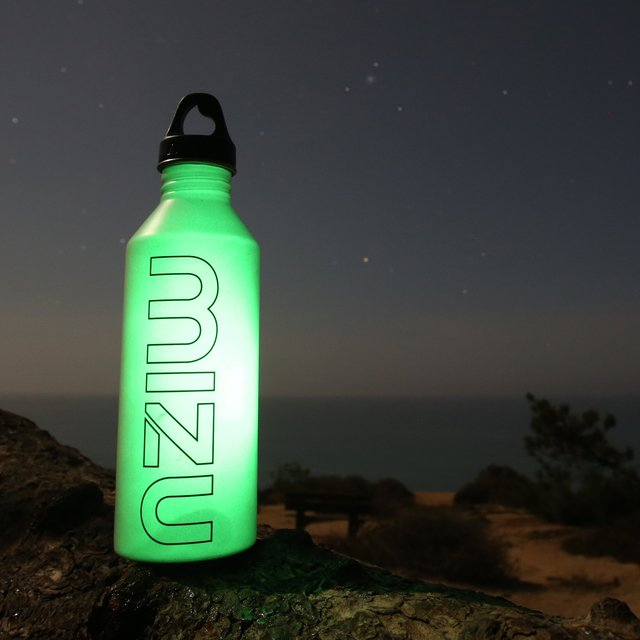 Glow-In-The-Dark Stainless Steel Bottle By Mizu