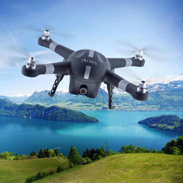 BlackBird X10 Quadcopter by Aries