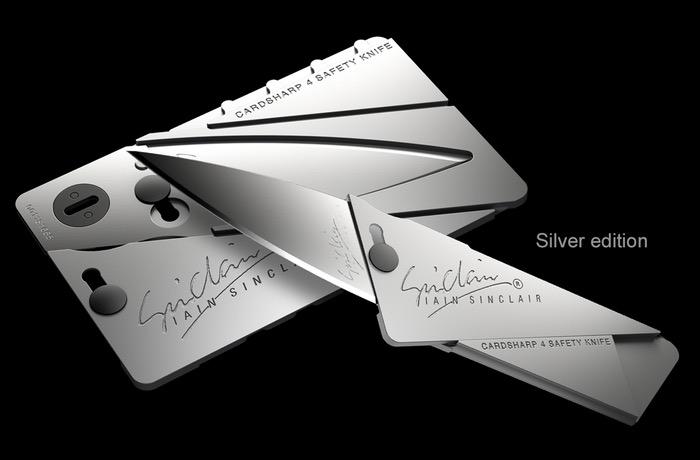 Iain Sinclair Cardsharp4 Machined Metal Body And Blade