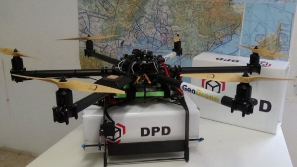 First Mailing Drones By French
