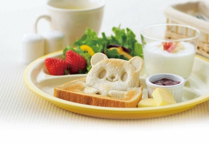 Panda Sandwich Cutters