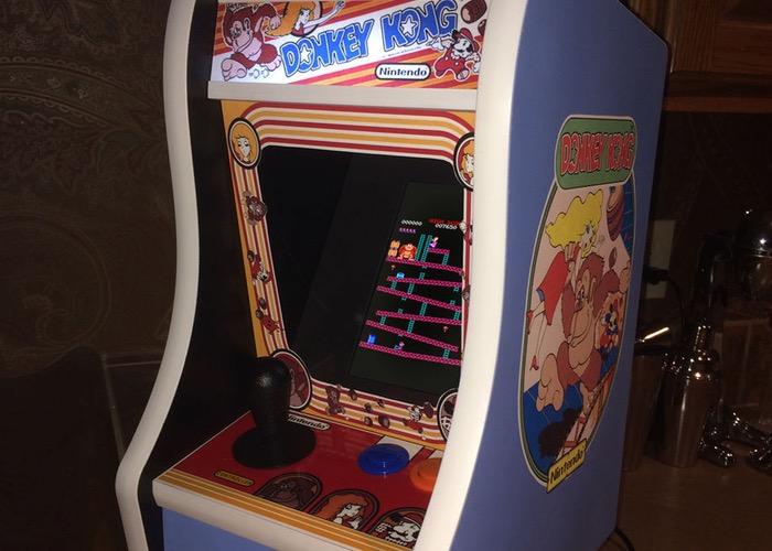 Raspberry Pi Desktop Donkey Kong Arcade Arcade Machine