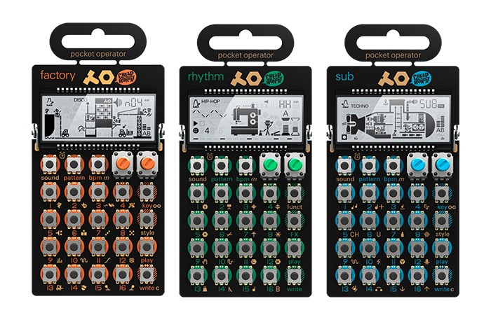 Teenage Engineering Pocket Operator Synthesizers