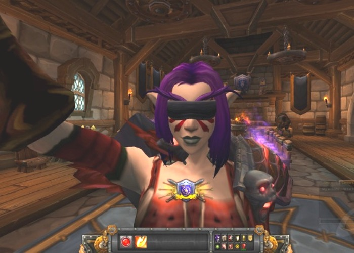 World of Warcraft Selfie Camera
