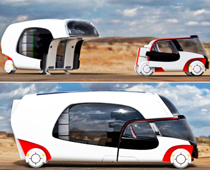 Colim Detachable Caravan
