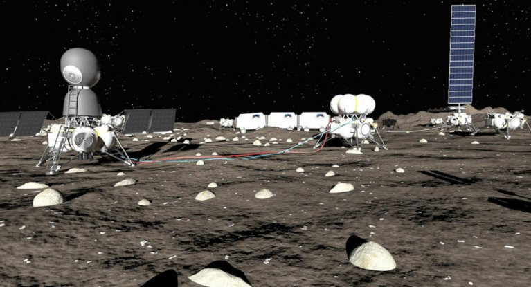 Russian Transport Company Will Build a Moon Base