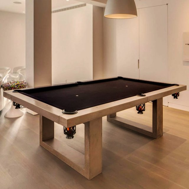 Concrete Pool Table by James De Wulf
