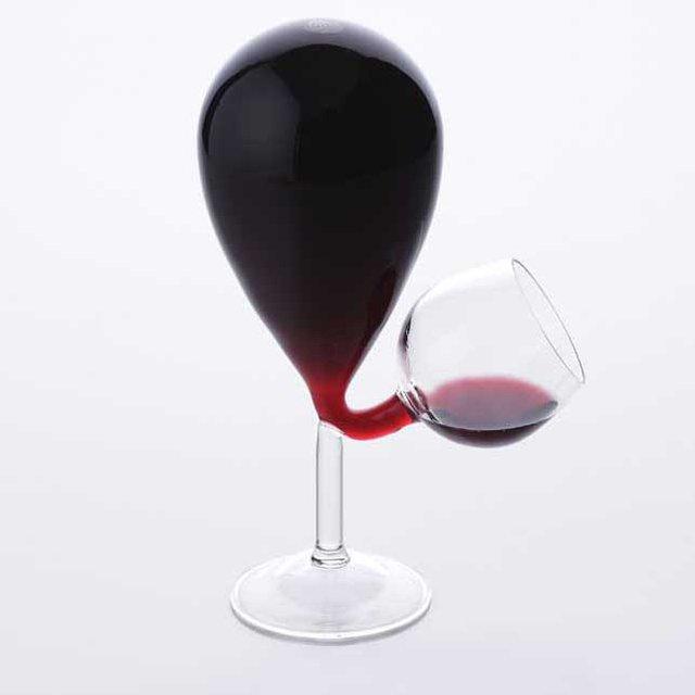Glass Tank Wine Glass
