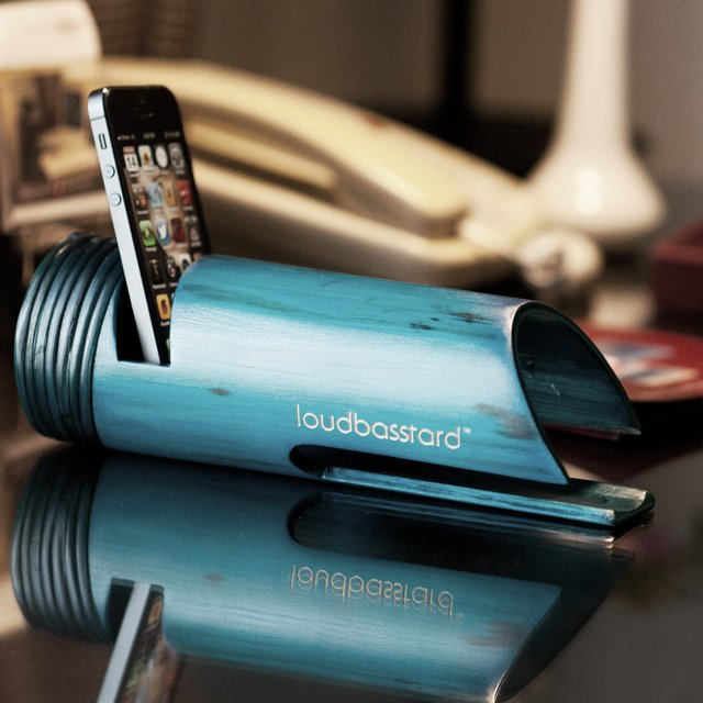 Loudbasstard Bamboo Amplifier and Speaker