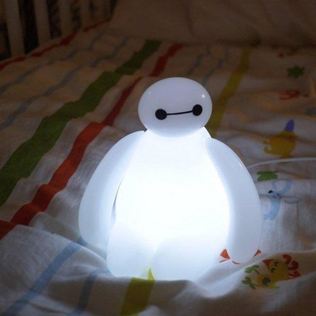 Awesome Baymax LED Nightlight
