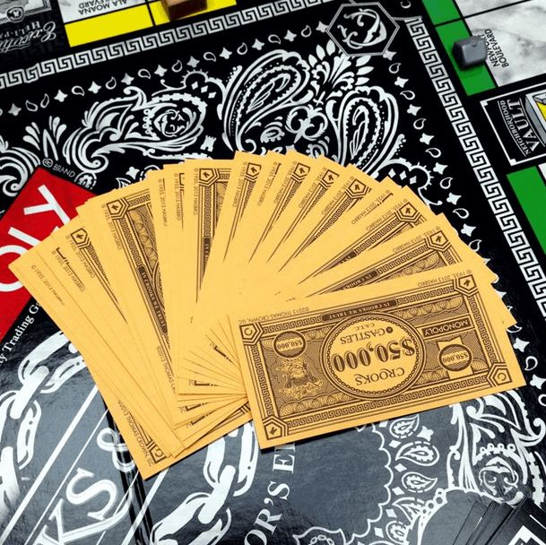 Crooks X Monopoly Board Game
