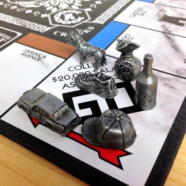 Crooks X Monopoly Board Game