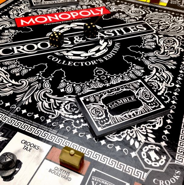 Crooks X Monopoly Board Game (3)