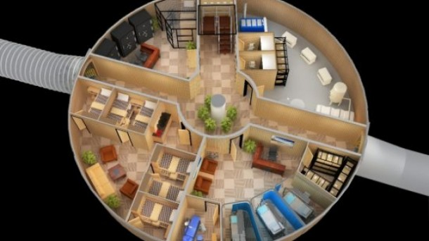 Nuclear Missile Silos Converted Into Luxury Survival Apartments (3)