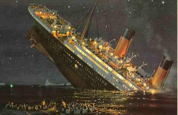 Titanic While It's Sinking