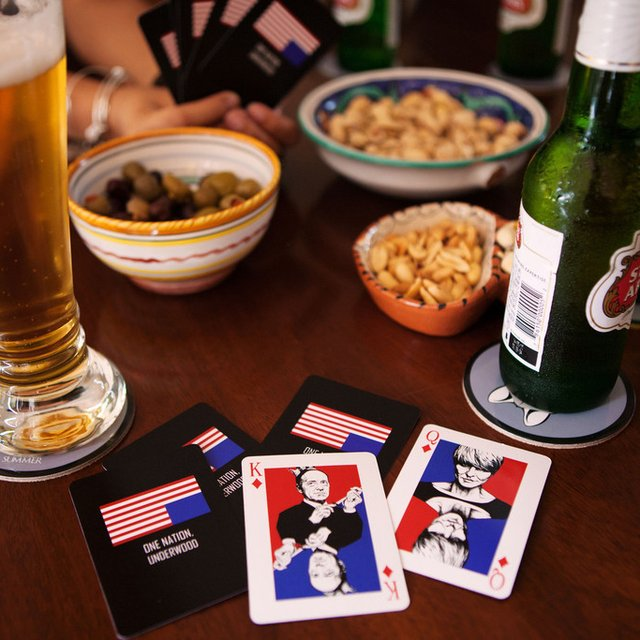 House of Cards Inspired Playing Cards