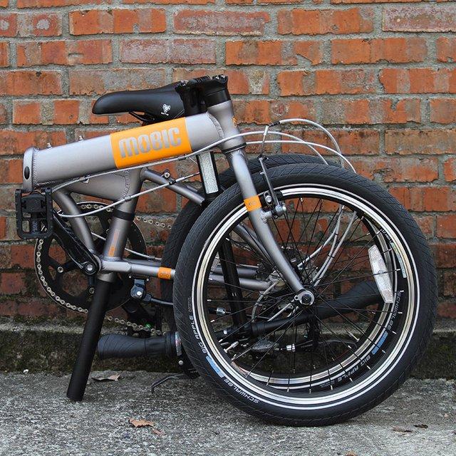 Fusion X9 Aluminum Folding Bike by MOBIC.