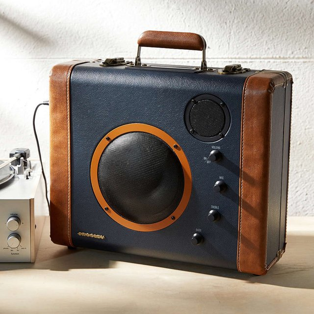 Soundbomb Suitcase Speaker by Crosley