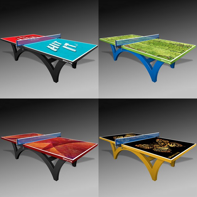 Custom Ping Pong Tables by Uberpong