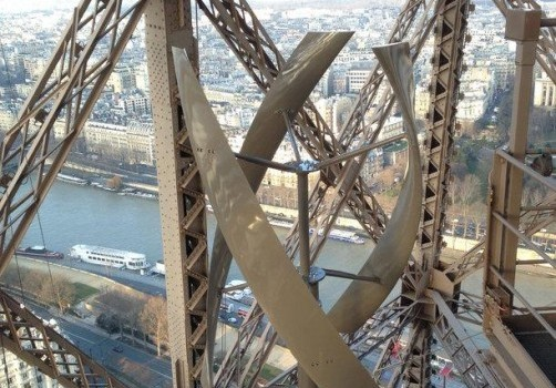 Like Stark Tower Now Eiffel Tower is Also Self Sustainable