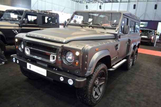 6×6 Land Rover Defender