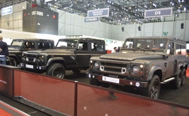6×6 Land Rover Defender
