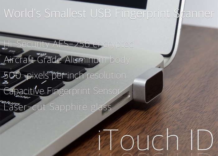 Tiny USB Fingerprint Scanner Easily Adds Extra Security To Your Computer