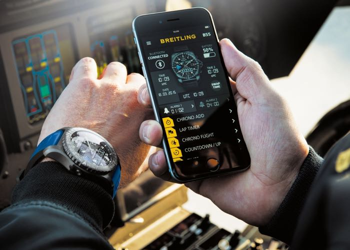 Breitling B55 Will Connect To Your Smartphone (Video)