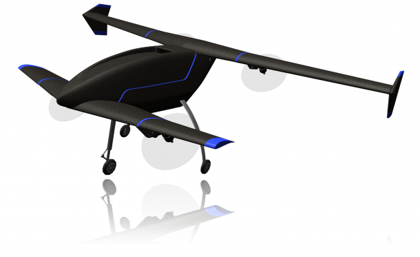 Multifunctional Vertex Drone Can Hover and Fly