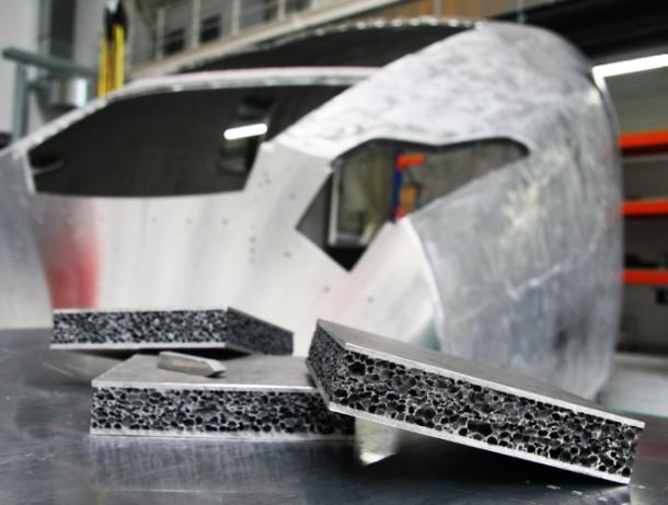 New Aluminum Foam Technology