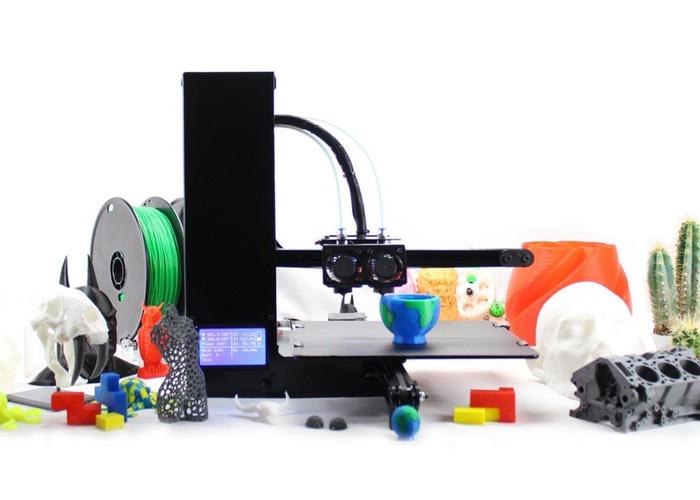 Genesis 3D Printer Range Launches On Kickstarter
