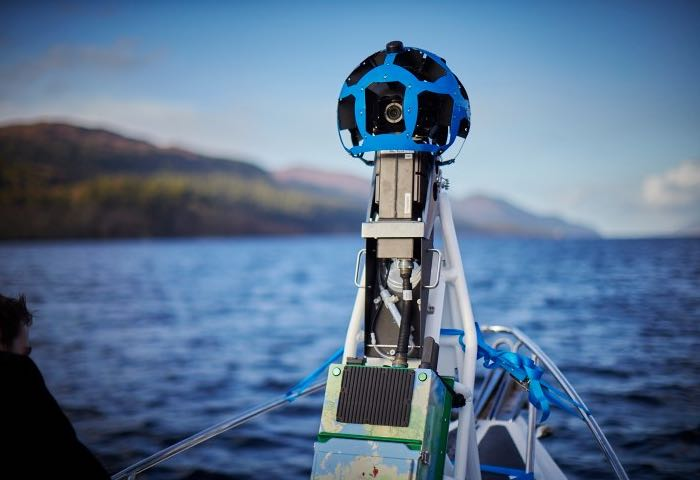Google Street View Scans Famous Loch Ness Lake