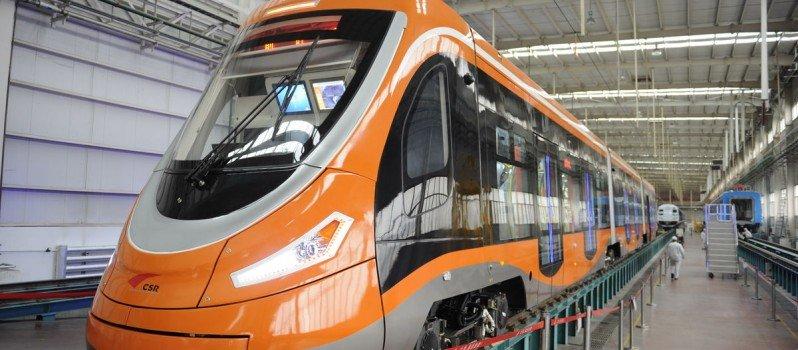World's First Hydrogen Powered Chinese Tram