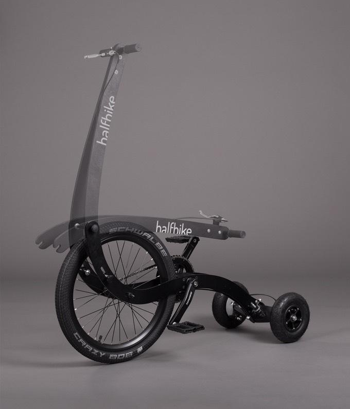 Halfbike II Next Generation Personal Transporter