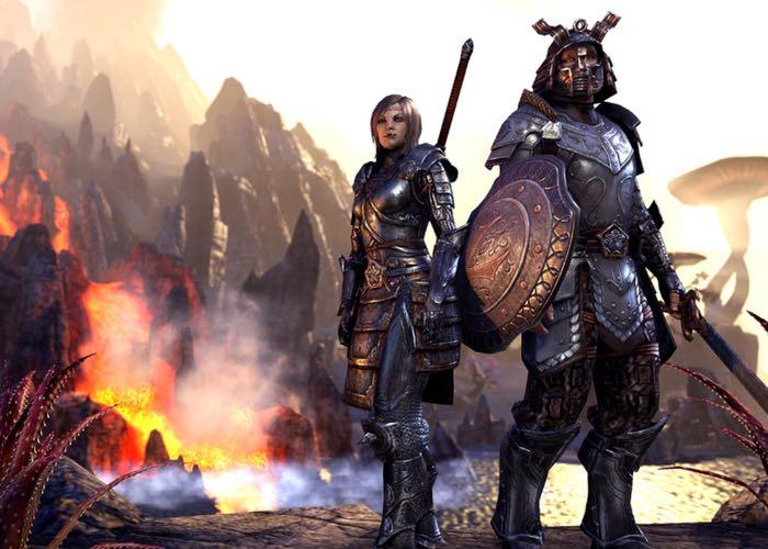 PlayStation 4 Elder Scrolls Online Beta