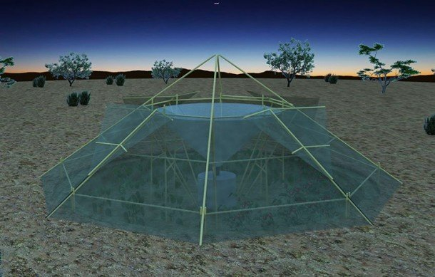Innovative Greenhouse Collects Water From Air