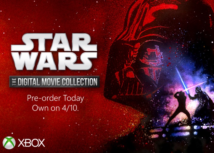 Star Wars Digital Movie Collection Now Available On Xbox