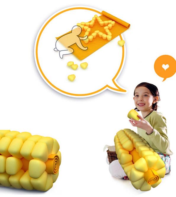 Corn On The Cob Pillow