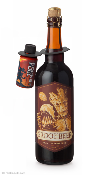 GotG Collector's Edition Groot Beer and Rocket Fuel Two-Pack