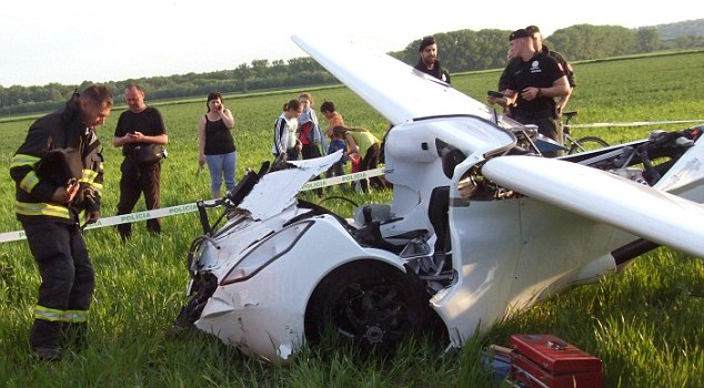 The AeroMobil Flying Car Prototype Crashes