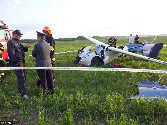 The AeroMobil Flying Car Prototype Crashes