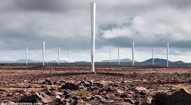 New Bladeless Wind Turbines Are Quieter and Good Looking