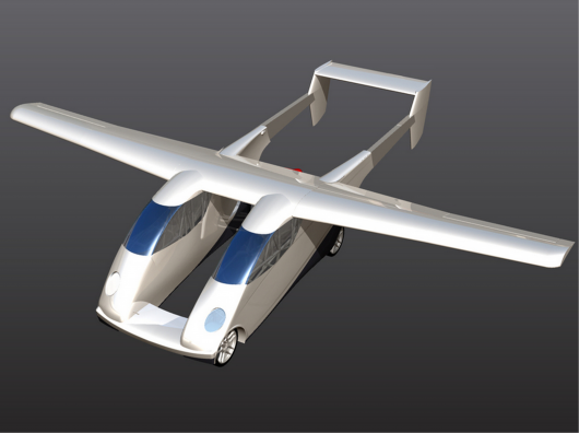 Twin Fuselaged Carplane