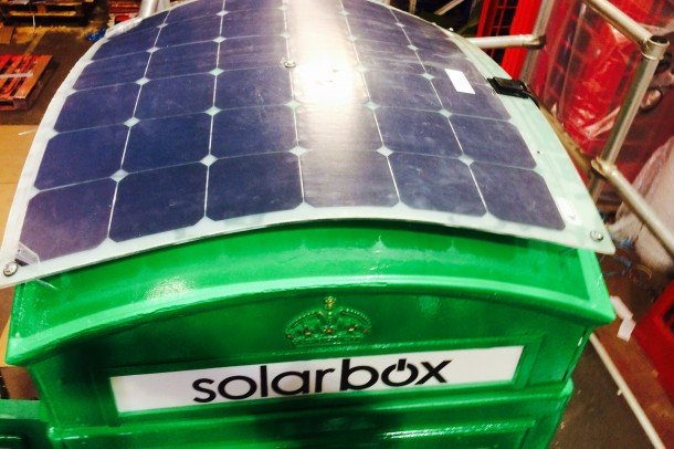 London Booths Are Converted into Solar Charging Stations For Mobiles (1)